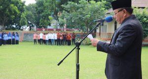 Wakil Walikota Suwandel Muchtar jadi Irup di Balai Kota Bukik Sibaluik.