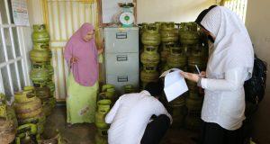 Monitoring Pangkalan LPG.