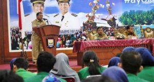 Mahasiswa Unand KKN 2017 Kunjungi Kota Pariaman