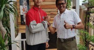 Ketua Umum Perguruan Karate Inkanas Sumbar, Irwan Prayitno mengapresiasi dipanggilnya Karateka Huggies Yustisio memperkuat Indonesia di ajang World Karate Federation (WKF) di Barcelona Spanyol, 25-29 Oktober 2017 mendatang.