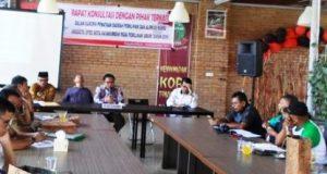 KPU dan Wartawan Dialog Soal Penataan Dapil dan Alokasi Kursi DPRD Payakumbuh